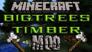 Minecraft 1.4.7 - Como Instalar TIMBER MOD Y BIG TREES MOD - ESPAÑOL [HD] 1080p