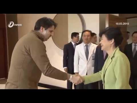 South Korea's President Park Geun Hye Visits Injured US Ambassador Mark Lippert