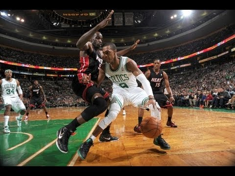 Rajon Rondo Highlights vs.Miami Heat 4/1/2012 - triple double - 16 points,14 assists [HD]