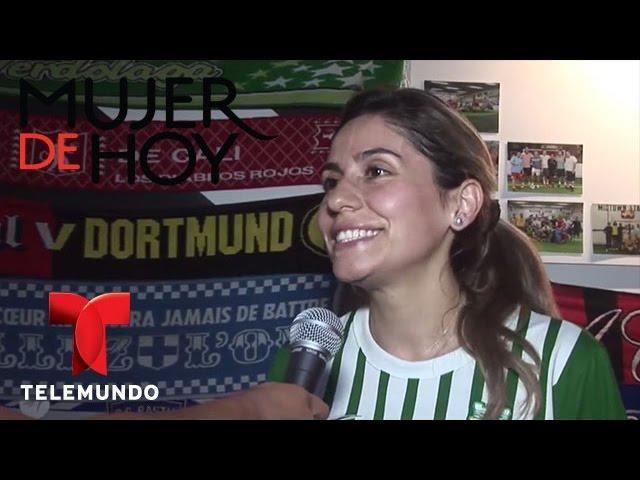 iVillage Mujer | Mujeres que juegan fútbol demuestran su pasión Mundialísima | Telemundo