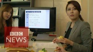 English teacher who earns $500k - BBC News