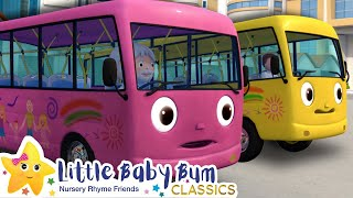 Wheels on The Bus Song | Nursery Rhymes and Kids Songs | Baby Songs | Little Baby Bum