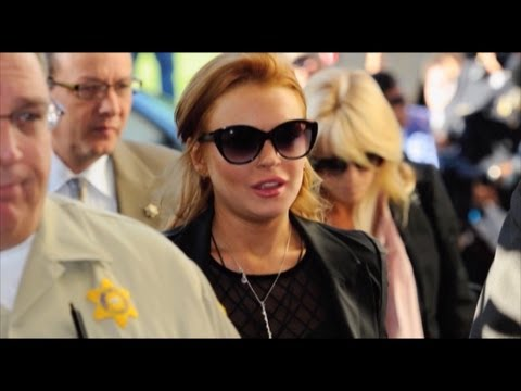 Lindsay Lohan cons a limousine company