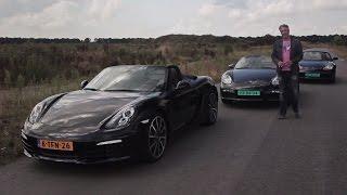 Porsche Boxster: three generations