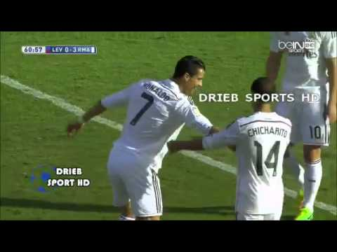 Real Madrid Vs Levante 5-0 Goals And Highlights 10-18-2014 HD