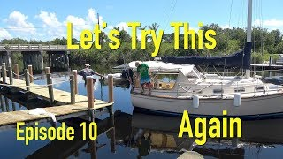 2nd launch no leak How We Got Our Sailboat On The Water The Boat Life travel vlog adventure EP10 S1