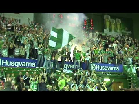 Green White Boys piro show 2009.09.26, Žalgiris - rytas 83:78