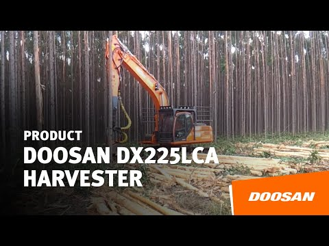 DOOSAN DX225LCA harvester