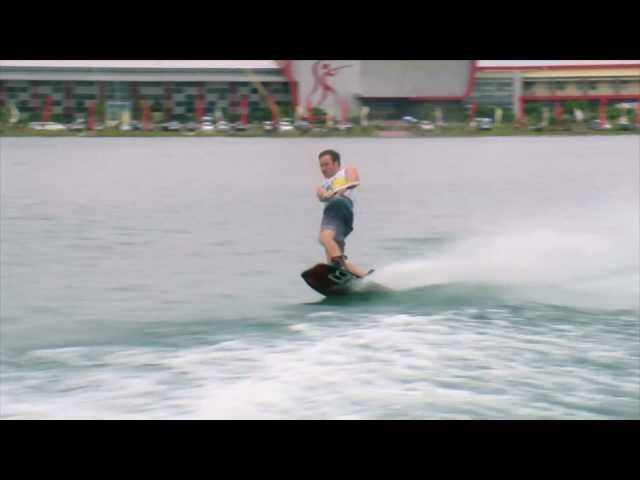 Indonesia Wakeboard heats - IWWF world Cup 2012