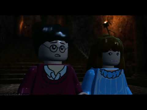 LEGO Harry Potter Years 1-4 Walkthrough Part 11 - Year 1 - Face of the Enemy