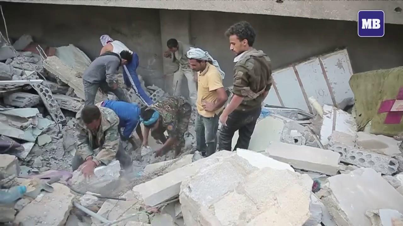 Children among the dead in new air strike on Yemen capital