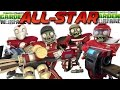 All-Star - Plants Vs. Zombies: Garden Warfare (Cricket Star, Goalie Star, Hockey Star, Rugby Star)