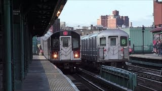 NYC Subway HD 60fps: One Hour of 6 Train Service Express & Local @ Morrison Avenue–Soundview