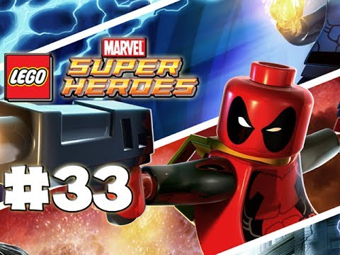 LEGO Marvel Superheroes - LEGO BRICK ADVENTURES - Part 33 - Rude! (HD Gameplay Walkthrough)