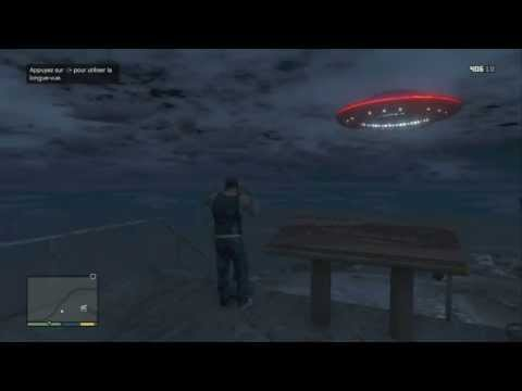 (GTA 5) Le Secret final du Mont Chiliad Soucoupe volante