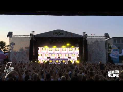 Boys Noize at Docklands Festival 2015 - Münster Germany