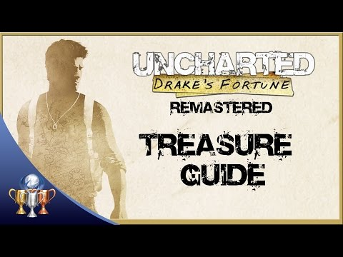 Uncharted Drake's Fortune Remastered - All 61 Treasure Collectibles (The Nathan Drake Collection)