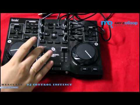 Обзор Hercules DJ Control Instinct