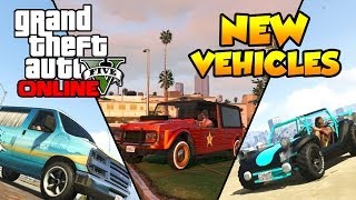 "GTA 5 Online ""Beach Bum Pack"" - New Vehicles DLC"