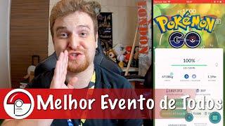 Evento ÉPICO | Shiny 100% | Dia comunitário do Bagon - Pokémon GO