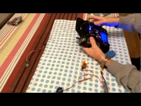 OrangeRX DSMX/DSM2 2.4Ghz Transmitter Module in Turnigy 9XR BIND (English sub. Croatian audio)