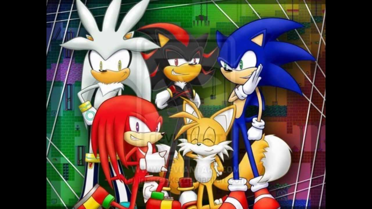 Sonic shadow knuckles and tails ft silver if i ruled the - Sonic et shadow ...