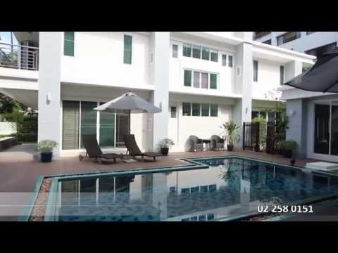House with pool – Rent 200 K. Bangkok – Sukhumvit, Prom Pong BTS