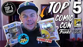 Top 5 Comic Con Exclusive Funko Pops!