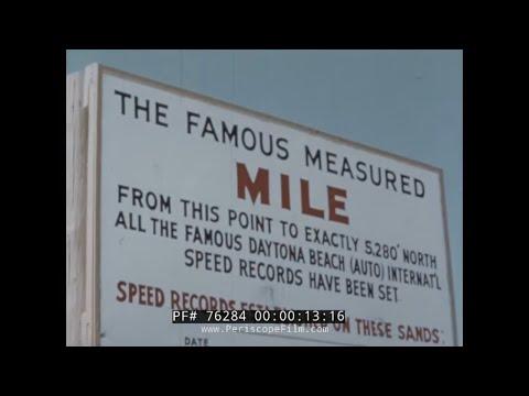 "1958 DAYTONA AND INDIANAPOLIS 500 MOTOR RACE  ""FAMOUS MEASURED MILE""  76284"
