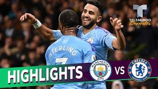 Manchester City vs. Chelsea: 2-1 Goals & Highlights | Premier League | Telemundo Deportes