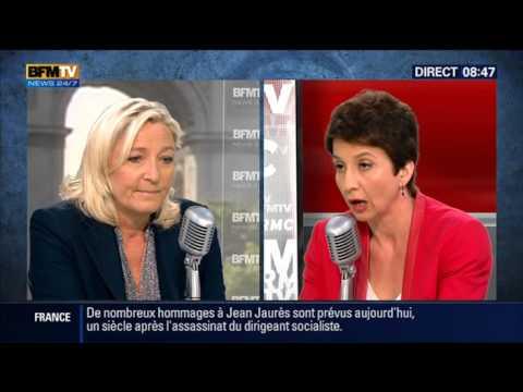 Bourdin Direct: Marine Le Pen - 31/07