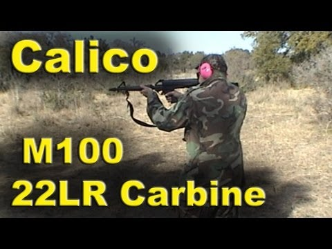 Shooting. Loading & loading Some more of Calico M100 22LR Carbine