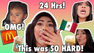 Speaking ONLY SPANISH for 24 HRS!!!