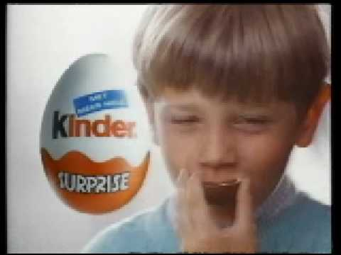 Kinder Surprise commercial from the 90s (Dutch)