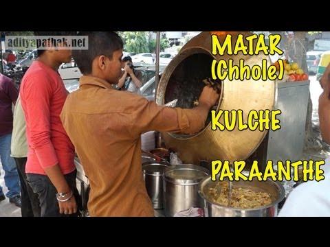 MATAR (Chhole) KULCHE and PARAANTHE at Saket