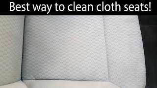 Best Cloth Seat Cleaning Technique