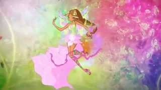 Winx Club Flora-Enchantix-Believix-Harmonix! English! HD!