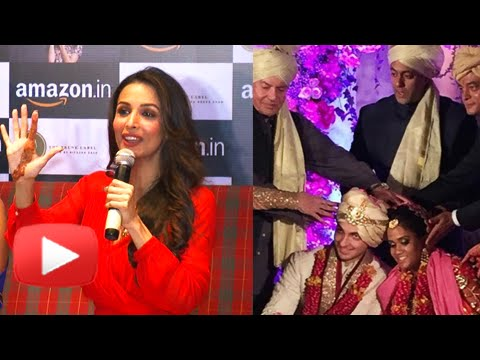 Malaika Arora Khan Talks About Salman Khan's Sister Arpita Khan's Wedding