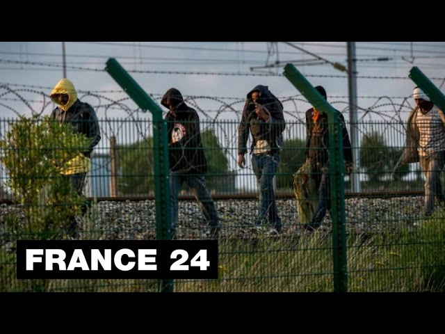 Report in Calais migrant camp, with those who risk their lives to get to England