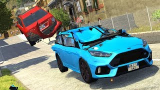 Crash Testing Real Car Mods #3 - BeamNG Drive Realistic Physics