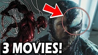 Venom TRILOGY CONFIRMED By Tom Hardy!- Carnage? Toxin? Other Symbiotes?- Spider-Man Spin off Movie!