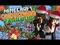 Minecraft HUNGRY PARKOUR (25 Days of Christmas) w/ BajanCanadian & JeromeASF