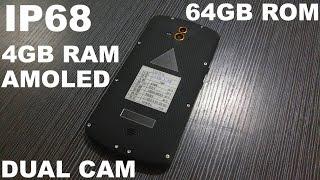 AGM X1 обзор на самый мощный китайский защищенный IP68 смартфон с AMOLED экраном и Snapdragon!