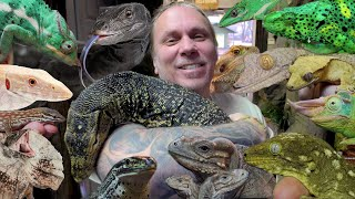 LIVING WITH ALL THESE INSANE LIZARDS!!!! | BRIAN BARCZYK
