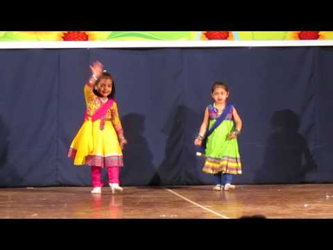 Radiant Kidzee - Vani & Manvi Dance performance on Chuddi bhi...