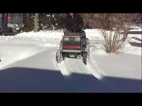 Craftsman Lawn Mower Snow Romp Pt.2