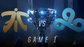 FNC vs C9   Semifinal Game 1   World Championship   Fnatic vs Cloud9 (2018)