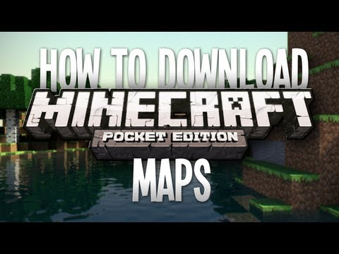 How To Download Maps For Minecraft Pocket Edition Without Jailbreak