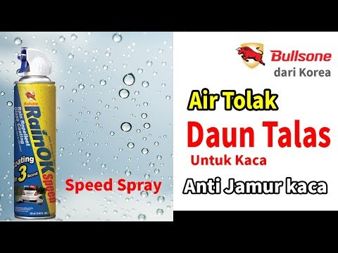 RainOK Speed spray- Efek daun talas, air tolak anti hujan