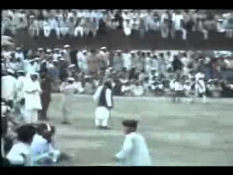 Football Match In South Waziristan With Pashtoonkhwa Milli Awami Party Flags Shirt video